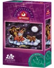 Puzzle Art Puzzle de 100 de piese - Semnul zodiacal Taur