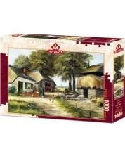 Puzzle Art Puzzle de 1000 piese - Farm House