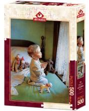 Puzzle Art Puzzle de 500 piese - Childlike Pray