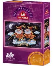 Puzzle Art Puzzle de 100 de piese - Semnul zodiacal Gemeni