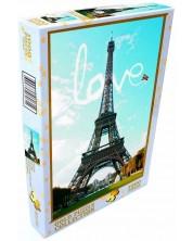 Puzzle Gold Puzzle de 1000 piese - Love at Paris