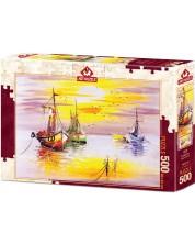 Puzzle Art Puzzle de 500 piese -Evening Sun