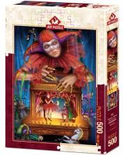 Puzzle Art Puzzle de 500 piese - Puppeteer In Masque