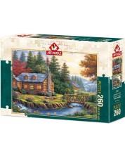 Puzzle Art Puzzle de 260 piese - Autumn On The Hills