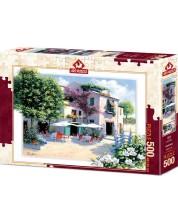 Puzzle Art Puzzle оde 500 piese - Cafe Villa