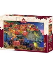 Puzzle Art Puzzle de 1500 piese - Cinque Terre, Italy. David M.