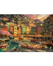 Puzzle Anatolian de 3000 piese - Port in Italia
