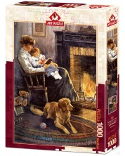 """Puzzle Art Puzzle de 500 de piese - Nostalgie pentru povesti de """"Noapte buna"""""""