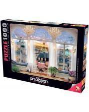 Puzzle Anatolian de 1000 piese - Vedere de pe terasa din Paris, David Maclean
