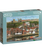 Puzzle Jumbo de 1000 piese - Whitby Harbour, North Yorkshire