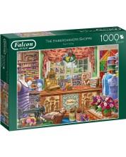 Puzzle Falcon de 1000 piese - The Haberdashers Shoppe, Steve Crisp -1