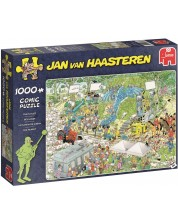 Puzzle Jumbo de 1000 piese - Platoul de filmare, Jan Van Haasteren