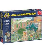 Puzzle Jumbo de 1000 piese - Jan van Haasteren The Art Market