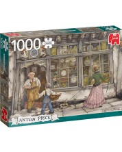 Puzzle Jumbo  de 1000 piese - Magazin de ceasuri, Anton Pieck