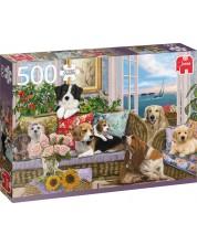 Puzzle Jumbo de 500 piese - Furry Friends