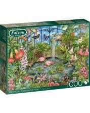 Puzzle Falcon de 1000 piese - Conservatorul tropical, Debbie Cook -1