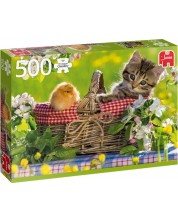 Puzzle Jumbo de 500 piese - Ready for a Picnic