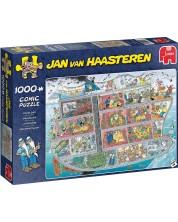 Puzzle Jumbo de 1000 piese - Nava de croaziera, Jan van Haasteren