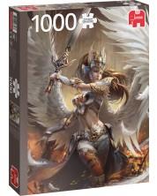 Puzzle Jumbo de 1000 piese - Angel Warrior