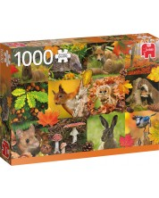 Puzzle Jumbo de 1000 piese - Autumn Animals