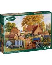 Puzzle Falcon de 1000 piese - Autumn on the Farm -1