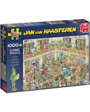 Puzzle Jumbo de 1000 piese - Biblioteca, Jan van Haasteren