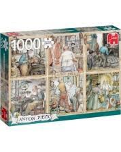 Puzzle Jumbo de 1000 piese - Realizarea maistorului, Anton Peake