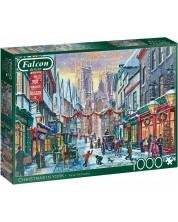 Puzzle Falcon de 1000 piese - Christmas in York  -1