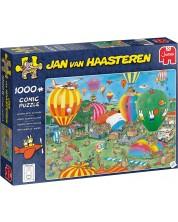 Puzzle Jumbo de 1000 piese -  Concurs cu baloane, Jan van Haasteren