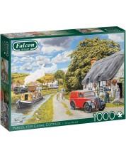 Puzzle Falcon de 1000 piese - Parcel for Canal Cottage, Trevor Mitchell -1