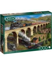 Puzzle Falcon de 1000 piese - Viaduct, Marcello Corti -1