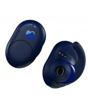 Casti cu microfon Skullcandy - Push Wireless, indigo/blue -1