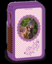 Penar scolar Ars Una Me and My Horses - Cu 2 compartimente -1