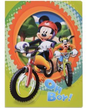Caiet scolar А5, 24 file Mickey - Oh Boy! -1