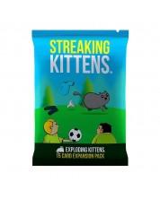 Extensie pentru jocul cu carti Exploding Kittens - Streaking Kittens