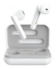 Casti wireless Trust - Primo Touch, TWS, albe