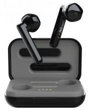 Casti wireless Trust - Primo Touch, TWS, negre