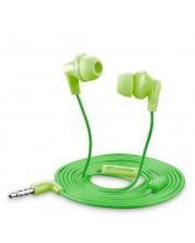 Casti cu microfon Cellularline - Smarty, Verzi