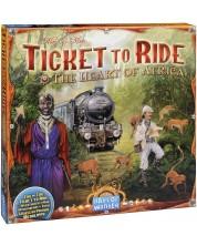 Extensie joc de societate Ticket to Ride - Heart of Africa