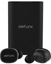 Casti wireless  Defunc TWS + Powerbank - negre