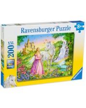Puzzle Ravensburger de 200 XXL piese - Printesa