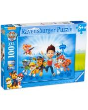 Puzzle Ravensburger de 100 XXL  piese - Echipa Paw Patrol