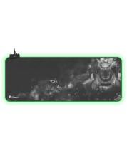 Mousepad gaming Genesis - Boron 500, XXL, RGB, gri
