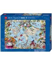 Puzzle Heye de 2000 piese - O lume bizara