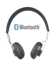 Casti cu microfon Microlab T3 - Bluetooth, wireless negre