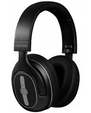 Casti wireless cu microfon Microlab - Outlander 300, negre