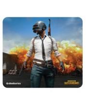 Mousepad gaming SteelSeries - QcK + Limited PUBG Erangel Edition