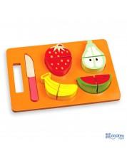 Set Fructe din lemn de taiat Andreu Toys -1