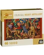 Puzzle Pomegranate de 1000 piese - Artilerie grea, Colin Gill -1