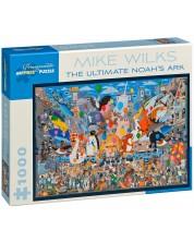 Puzzle Pomegranate de 1000 piese - Arca finala a lui Noe, Mike Wilks -1